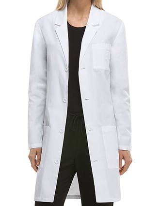 Dickies EDS Professional Whites Unisex 37 Inches Antimicrobial Lab Coat