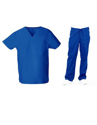 Dickies EDS Unisex Signature V-Neck Nursing Scrub Set