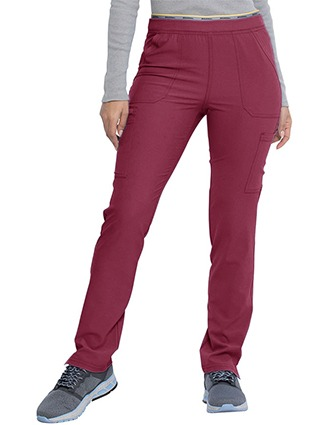 Dickies Retro Women's Mid Rise Logo Elastic Waist Pull-on Tall Pant