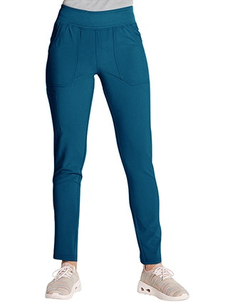 Dickies EDS Women's Essentials Mid Rise Tapered Leg Pull-on Petite Pant