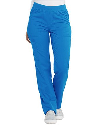 Dickies Balance Women's Mid Rise Straight Leg Pull-on Pant