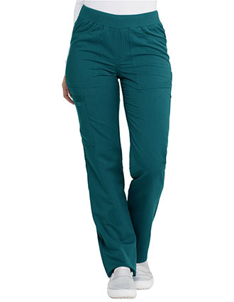 Dickies Balance Women's Mid Rise Straight Leg Pull-on Tall Pant