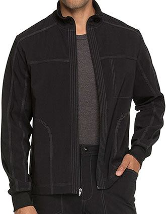 Dickies Advance Men's Solid Zip Front Jacket