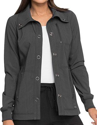 Dickies Advance Women's Funnel Collar Snap Front Jacket