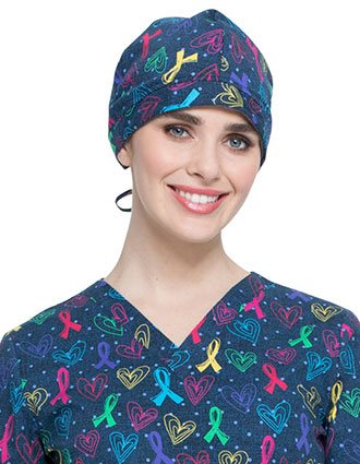 Dickies Unisex Love For All Print Scrub Hat