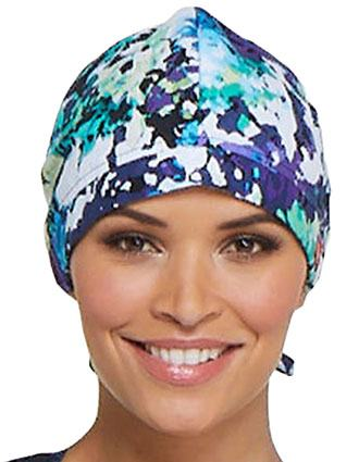 Dickies Unisex Take It Or Leaf It Printed Scrub Hat