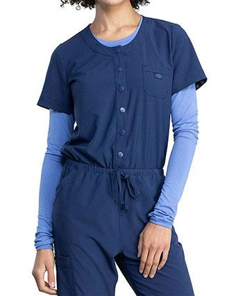 Dickies Retro Women's Snap Front Jumper