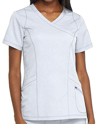Dickies Dynamix Women's Mock Wrap Top