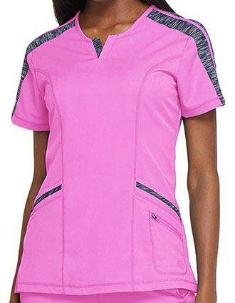 Dickies Dynamix Women's Shaped V-Neck Top