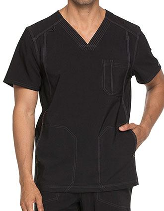 Dickies Advance Men's V-Neck Scrub Top