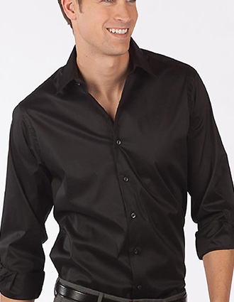 Men's Ls Spread Collar Dress Shirt
