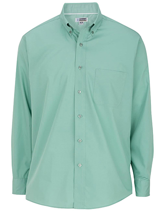 Men's Long Sleeve Soft Touch Poplin Shirt
