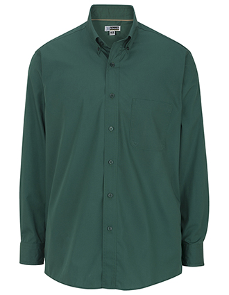 Men's Cotton Plus Long Sleeve Twill Shirt