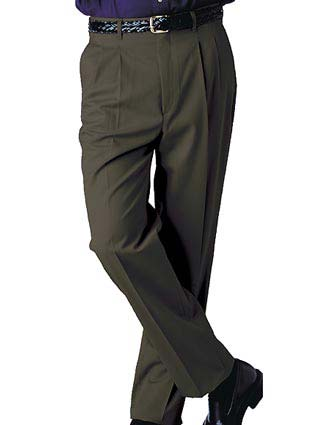 Men's Business Casual Pleated Pant