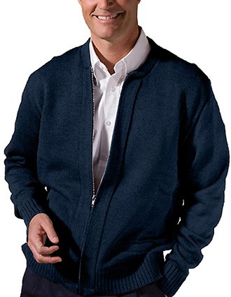 Value Zipper Cardigan With Tuff-pill