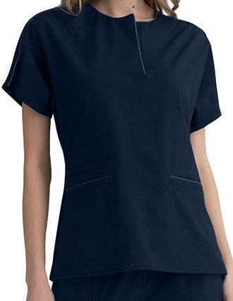 Elle Simply Polished Women's Round Neck Top