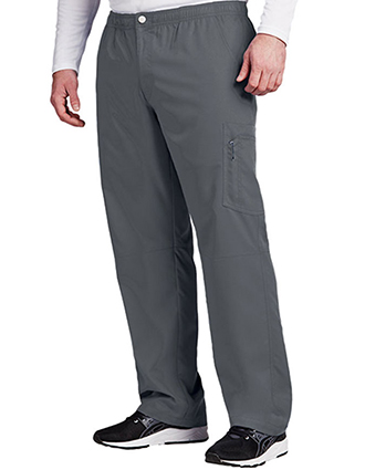 Grey's Anatomy Active Men's Elastic Waist Cargo Tall Scrub Pant