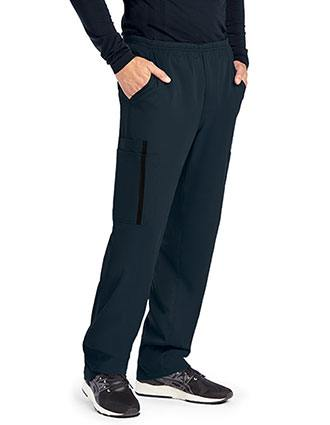 Grey's Anatomy Impact Men's Zip Fly Double Cargo Scrub Pant