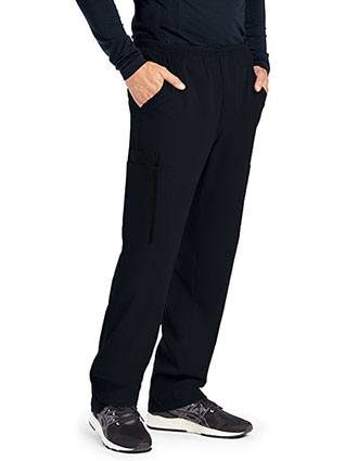 Grey's Anatomy Impact Men's Zip Fly Double Cargo Tall Scrub Pant