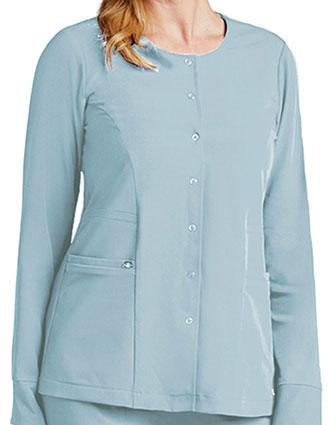 Grey's Anatomy Women's Two Pocket Snap Front Scrub Jacket