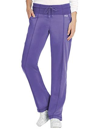 Grey's Anatomy Women's 4 Pocket Yoga Knit Drawstring Scrub Pants
