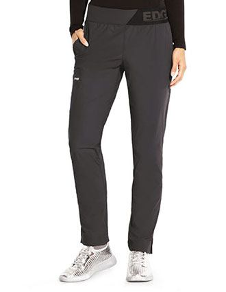 Grey Anatomy Edge women's Elastic Waist Scrub Tall Pant