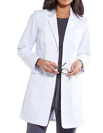 Grey's Anatomy Women's 34 Inches Back Belted Lab Coat