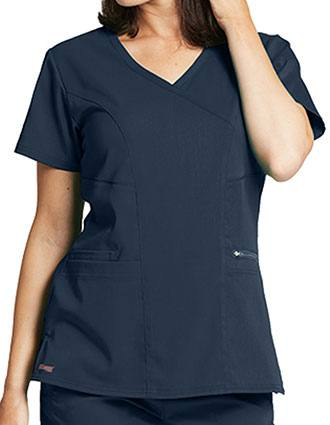 Greys Anatomy Women's Basic Scrub V-neck Top