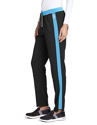 Greys Anatomy Women's Drawstring Fashion Petite Scrub Pants