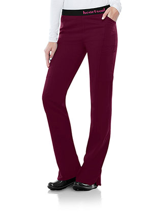 HeartSoul Head Over Heels Women's So In Love Low Rise Pull-on Petite Pant
