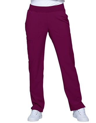 HeartSoul Love Always Women's Mid Rise Tapered Leg Tall Pant