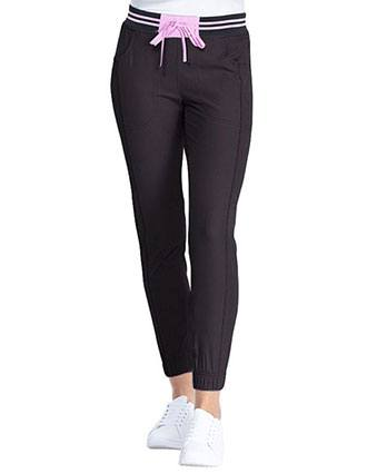 HeartSoul Break on Through Women's Rib Knit Waist Jogger pants