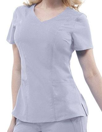 Healing Hands Purple Label Women's Crossover Neck Jordan Top