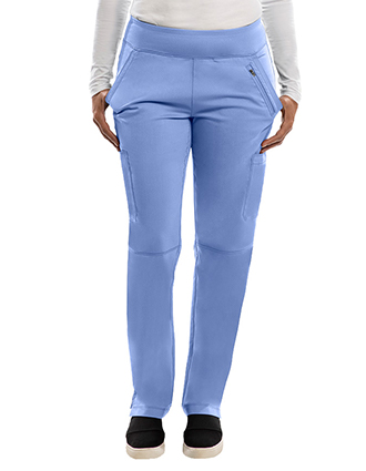 Healing Hands Purple Label Women Strectch Tyra Slim Yoga Scrub Tall Pant