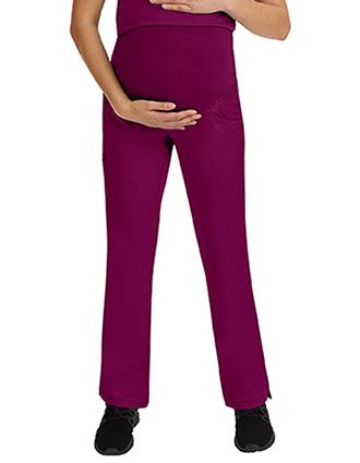 Healing Hands HH Works Women's Rose Maternity Scrub Pant