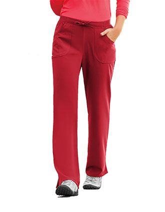 Jockey Scrubs Womens Rib Knit Combo Comfort Pants