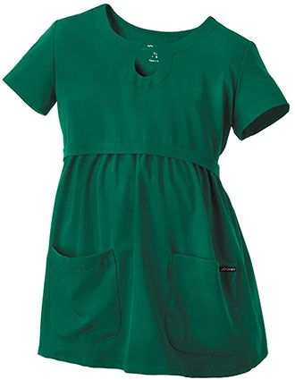 Jockey Women's Maternity Solid Scrub Top