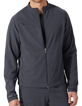 Jockey Classic Unisex Zip And Go Solid Scrub Jacket