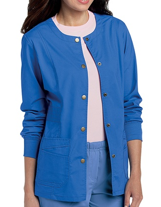 Landau Pre-Washed Women's Warm-Up Jacket