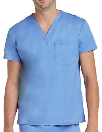Maevn Matrix Unisex V-Neck Solid Scrub Top