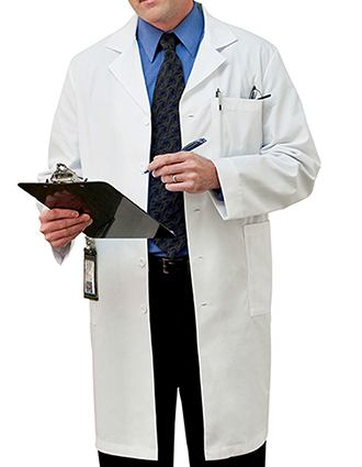Meta Mens Five Pocket 40 inch Long Medical Lab Coat