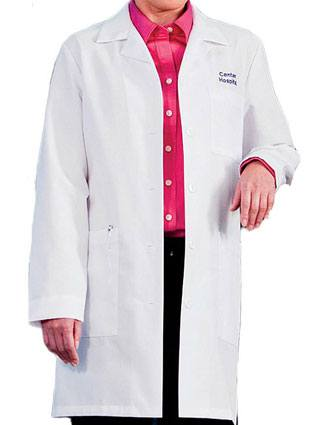 White Swan Meta Women 35 Inch Four Pocket Medical Lab Coat