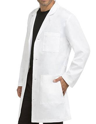 Med Couture Signature Men's 38 Inches Length Lab Coat