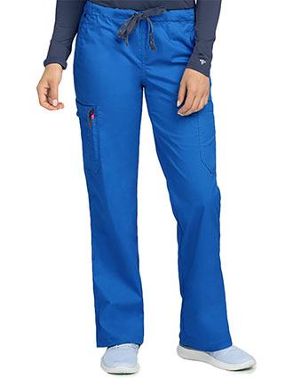 Med Couture Women's 2 Cargo Pocket Petite Pant