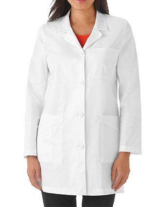 META Labwear Women's 4 Pocket 32 inches Stretch Lab Coat