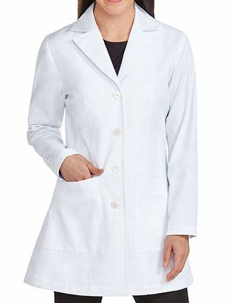 Med Couture Boutique Women's Mid Length Lab Coat