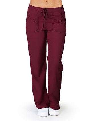 Natural Uniforms Womens Drawstring Waist Ultrasoft Cargo Surub Pants