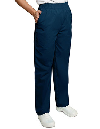 Adar Pro Two Pocket Elastic Waist Unisex Medical Scrub Pants
