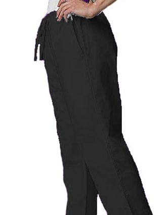 Adar Pro Two Pocket Womens Flare Leg Scrub Pants