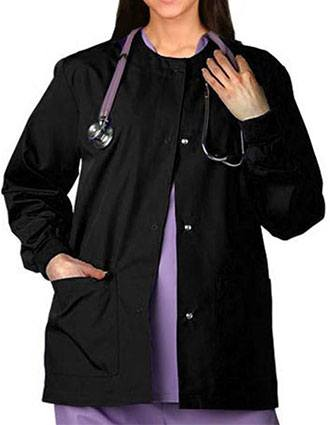 Adar Pro Two Pocket Womens Warm-Up Scrub Jacket